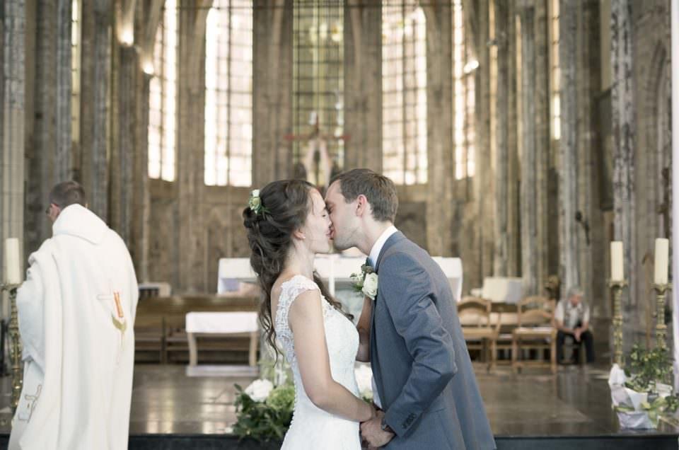Un mariage tout en nature à Douai