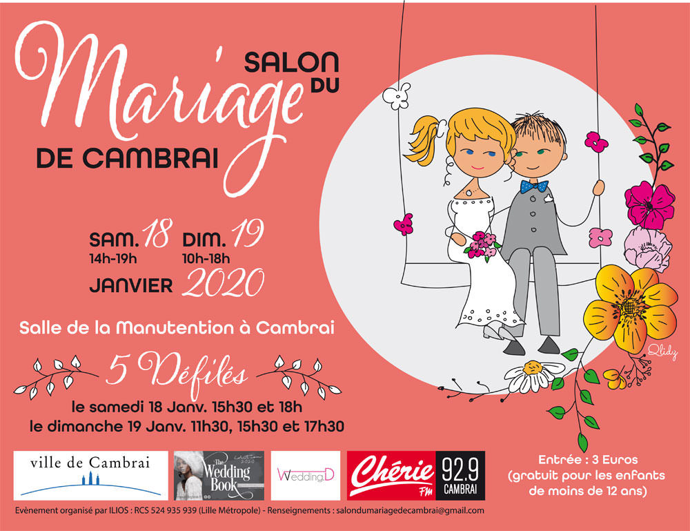 Salon du mariage Cambrai Solene Tardivon Photographe Videaste
